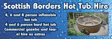 Scottish Borders Hot Tub Hire