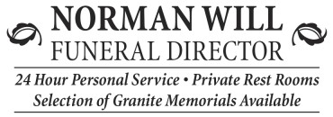 Norman Will Funeral Director