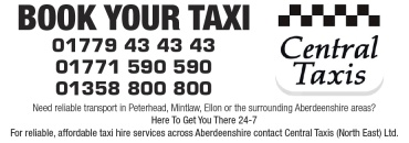 Central Taxis (North East) Ltd