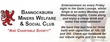 Bannockburn Miners Welfare & Social Club